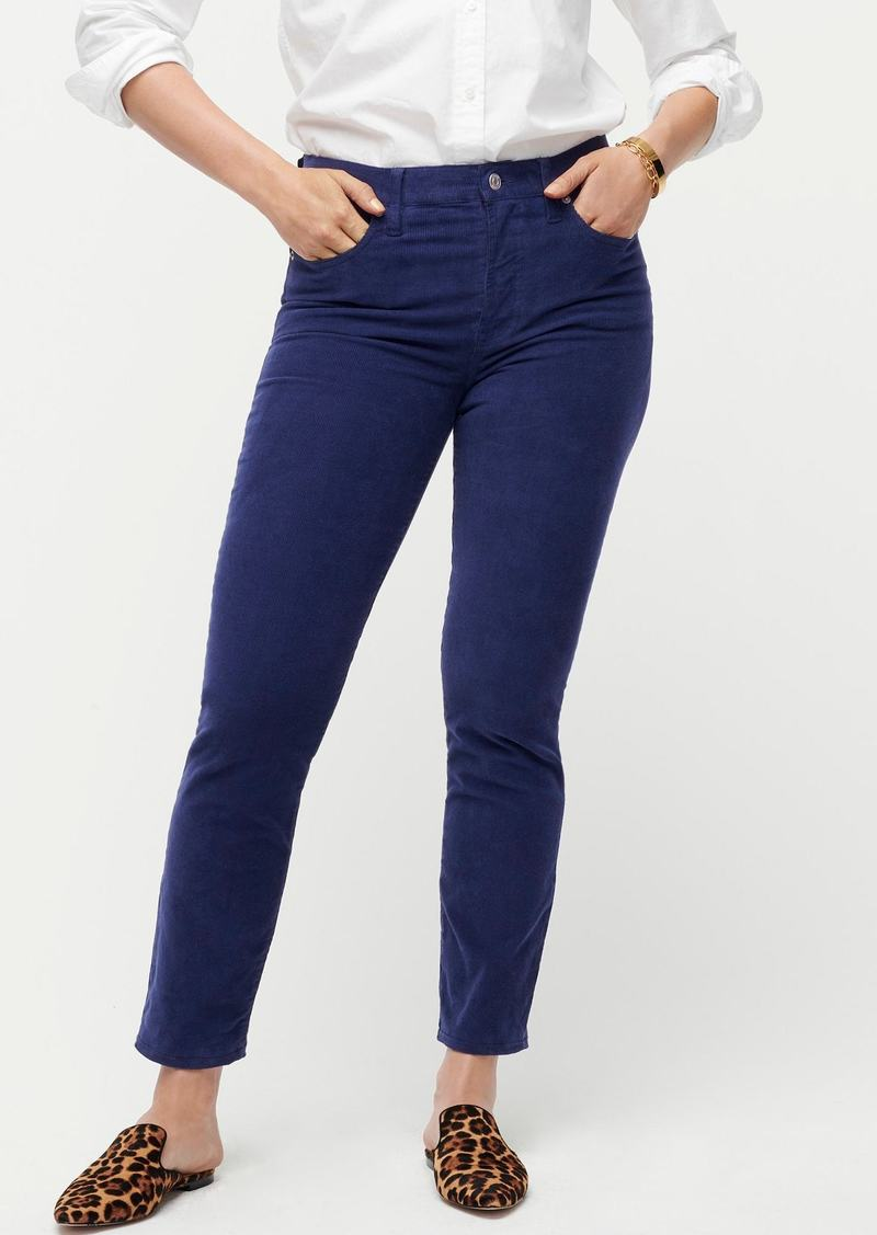 J.Crew Vintage straight pant in garment-dyed corduroy