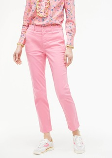 J.Crew Vintage straight pant in garment-dyed stretch chino