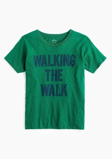 "J.Crew ""Walking the walk"" T-shirt"