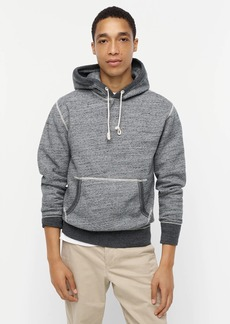 J.Crew Wallace & Barnes brushed-back fleece hoodie