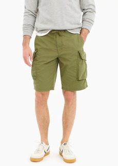 J.Crew Wallace & Barnes drawstring military short in ripstop cotton