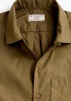 J.Crew Wallace & Barnes short-sleeve three-pocket shirt