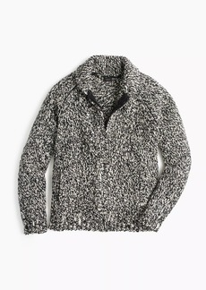 32e1d845c85 Wallace  amp  Barnes full-zip shawl-collar sweater in Donegal wool