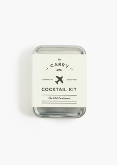 J.Crew W&P Design™ old-fashioned carry-on cocktail kit