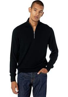 J.Crew Washable Merino Wool Half-Zip Sweater