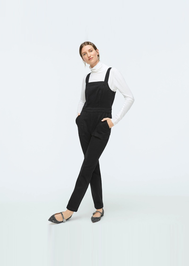 J.Crew Washed black denim coverall