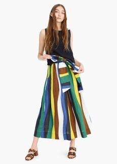J.Crew WHIT® Kimani skirt in stripe