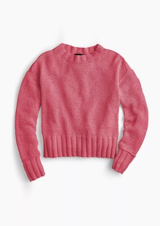 J.Crew Wide-rib crewneck sweater