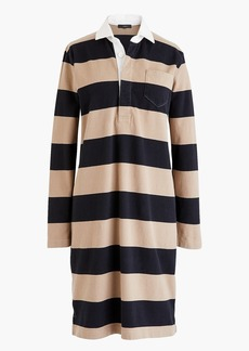 J.Crew Women's 1984 rugby shirtdress