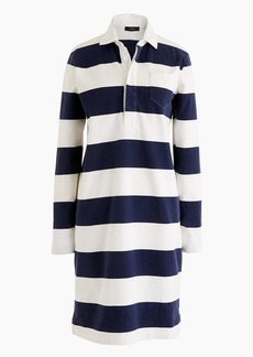 J.Crew Petite women's 1984 rugby shirtdress