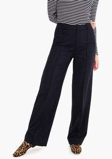 J.Crew Wool flannel full-length trouser