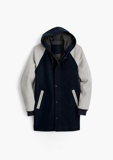 J.Crew Wool-nylon sideline jacket