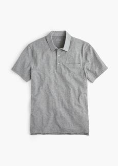 J.Crew Woven-collar polo in Pima cotton