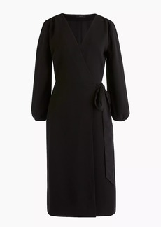 J.Crew Wrap dress in 365 crepe