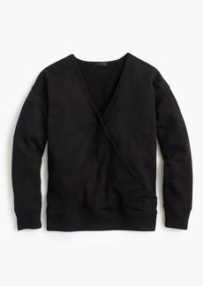 J.Crew Wrap front sweatshirt