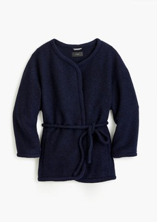 J.Crew Wrap jacket in boiled wool