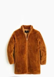 J.Crew Zip-up teddy coat