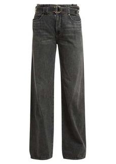 Jean Atelier Cinch paperbag-waist jeans