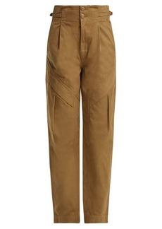 Jean Atelier Gemma paper-bag waist jeans