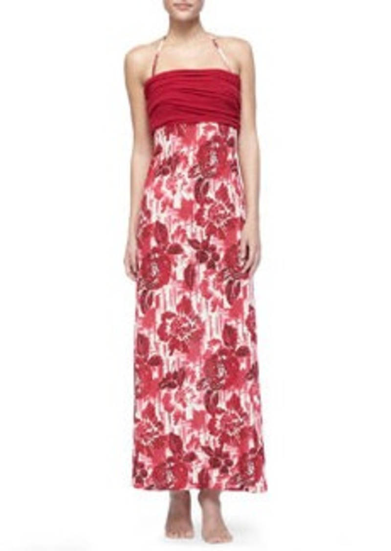 Jean Paul Gaultier Floral Dress/Skirt Coverup   Floral Dress/Skirt Coverup