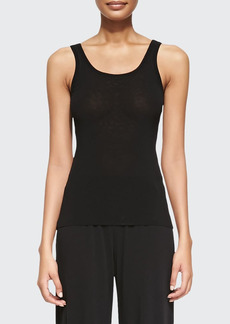 Jean Paul Gaultier Tulle Scoop Tank Top
