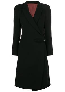 Jean Paul Gaultier wrap midi coat