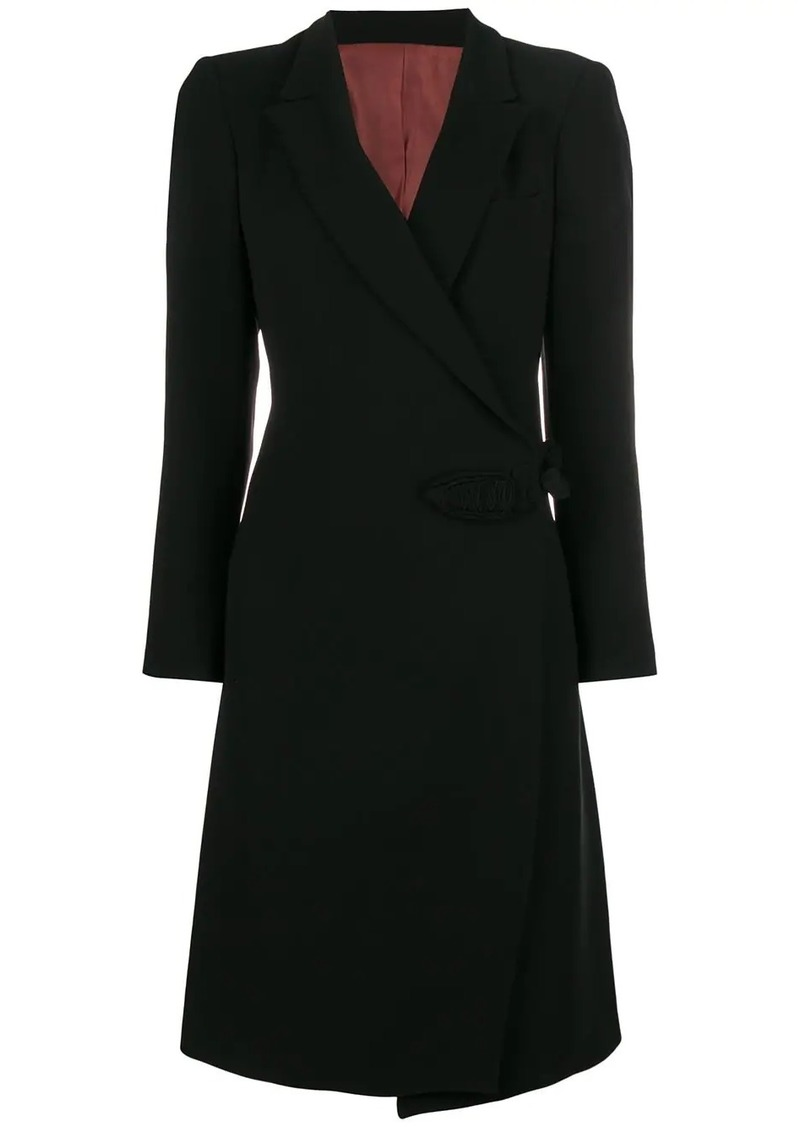 Jean Paul Gaultier wrap midi coat