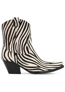 Jeffrey Campbell 70mm Ponyskin Leather Boots
