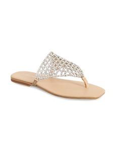 Jeffrey Campbell Abelia Crystal Embellished Sandal (Women)
