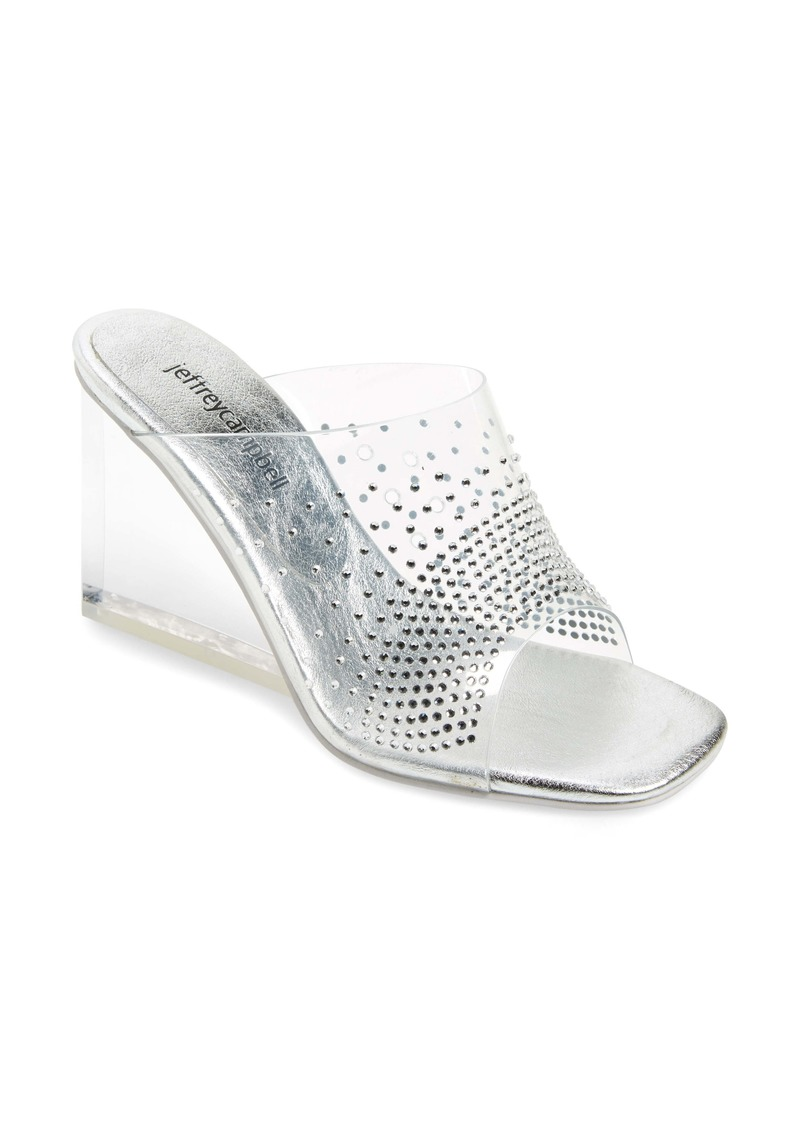 Jeffrey Campbell Acetate Wedge Slide Sandal (Women)