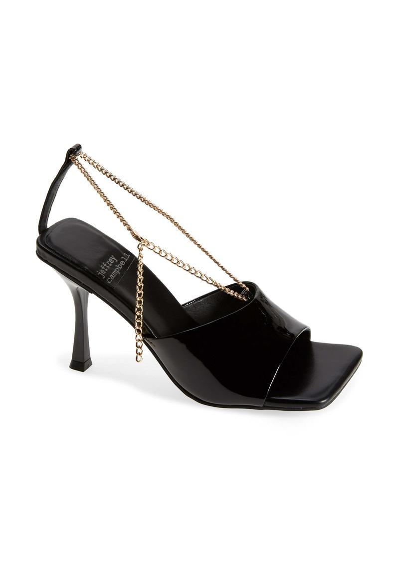 Jeffrey Campbell Ameline Chain Strap Sandal (Women)
