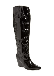 Jeffrey Campbell Amigos Over the Knee Western Boot (Women) (Wide Calf)