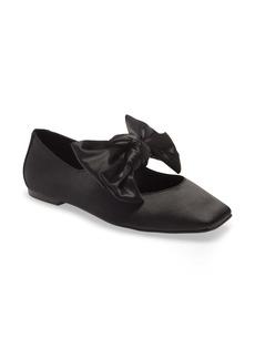 Jeffrey Campbell Amit Tie Ballet Flat (Women)