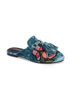Jeffrey Campbell Apfel Flower Tassel Loafer Mule (Women)