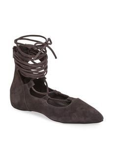 Jeffrey Campbell Atsuko II Ankle Strap Flat (Women)