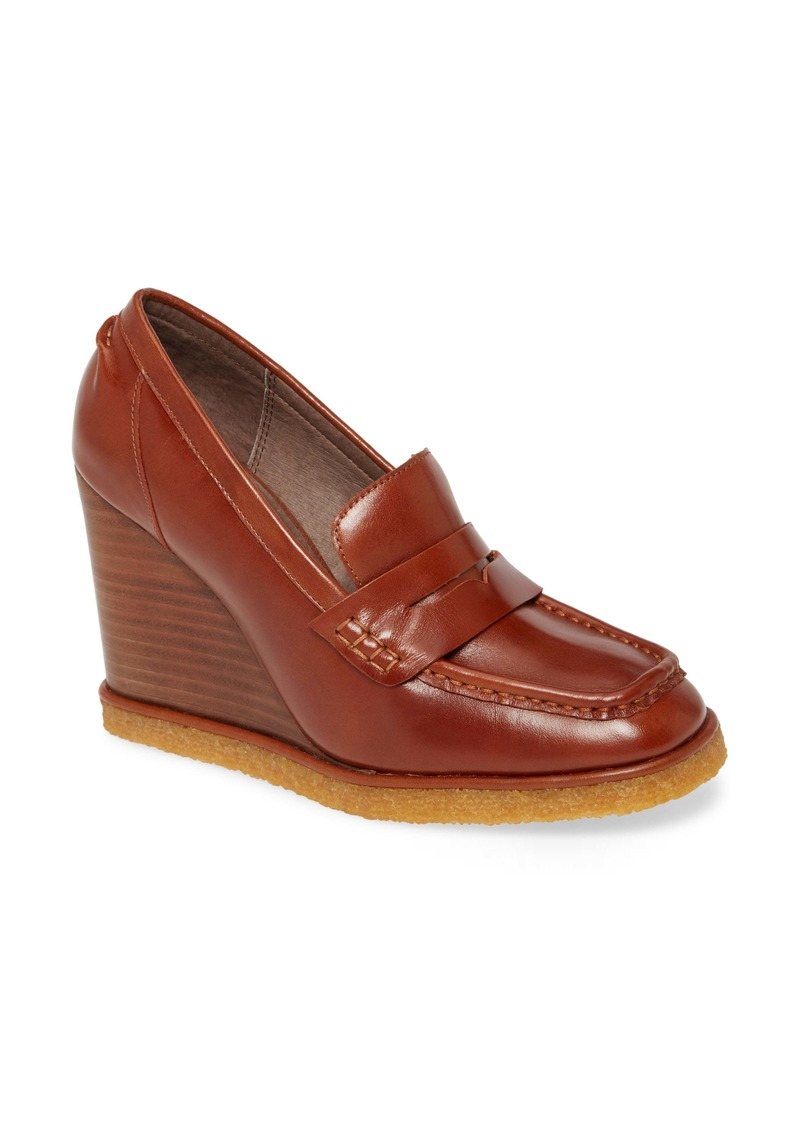 Jeffrey Campbell Auberge Wedge Loafer (Women)