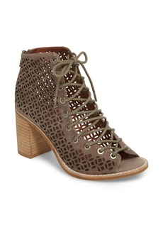 Jeffrey Campbell Bess Mos Open Toe Bootie (Women)