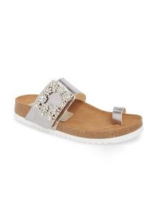 Jeffrey Campbell Bianca Embellished Slide Sandal (Women)