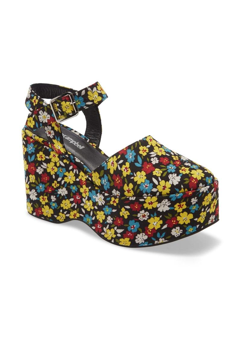 Jeffrey Campbell Bohemian Platform Wedge Sandal (Women)