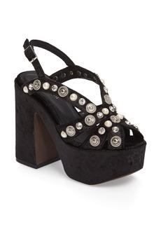 Jeffrey Campbell Briston Embellished Platform Sandal (Women)
