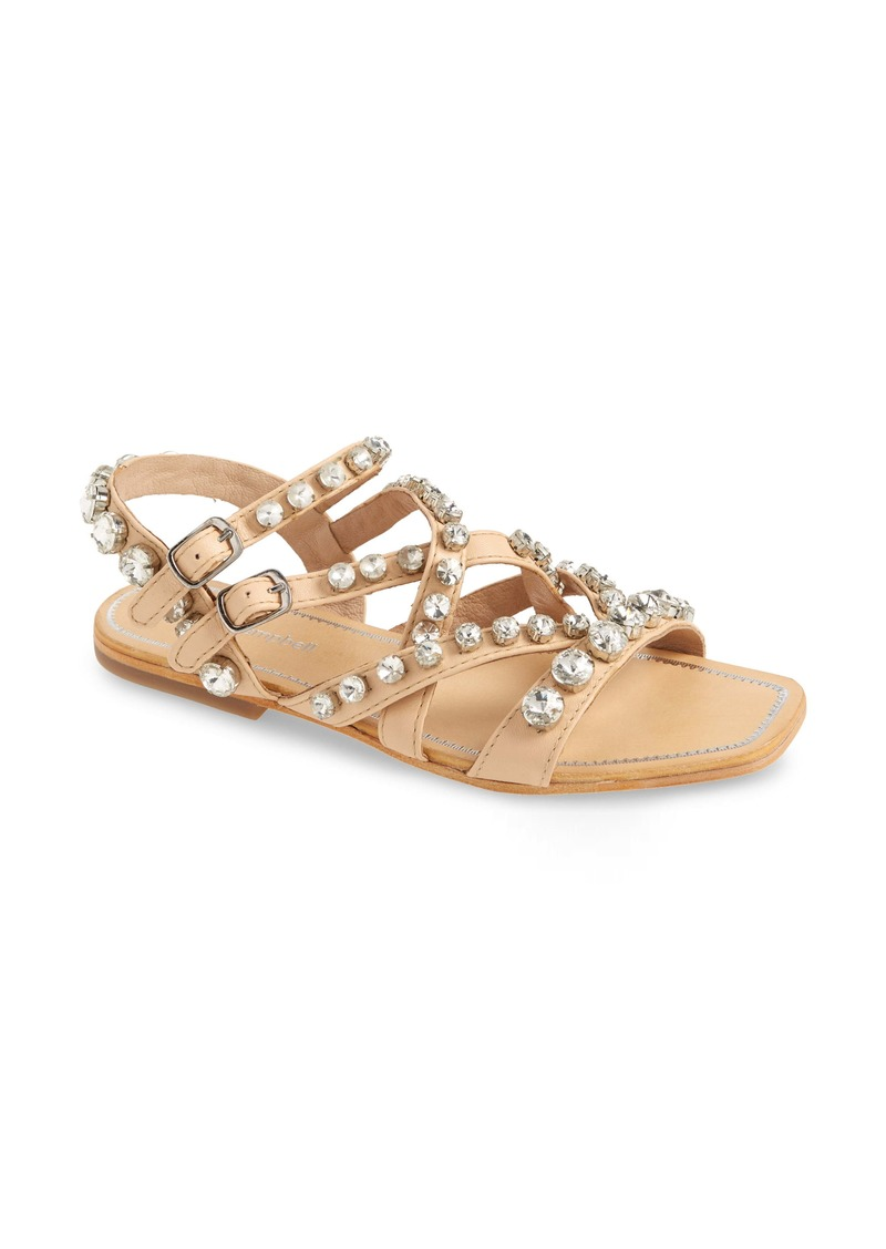 Jeffrey Campbell Calath-J Crystal Embellished Strappy Sandal (Women)