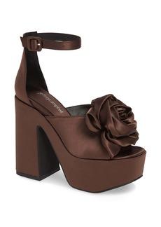 Jeffrey Campbell Candice Platform Ankle Strap Sandal (Women)