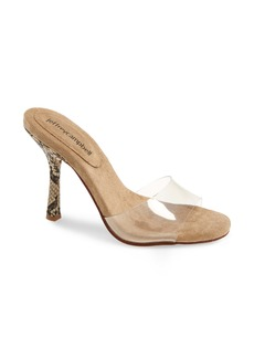 Jeffrey Campbell NC17 Clear Stiletto Slide Sandal (Women)