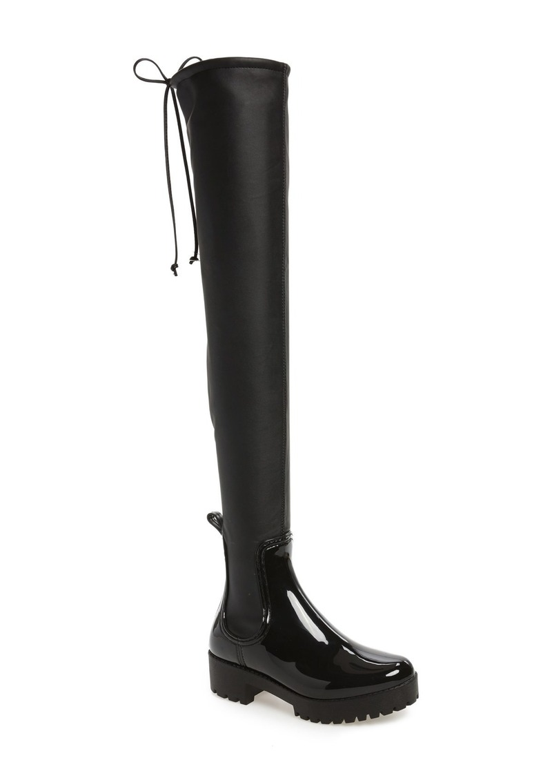 3732212fbd5 Jeffrey Campbell Jeffrey Campbell Cloudy Over the Knee Rain Boot ...