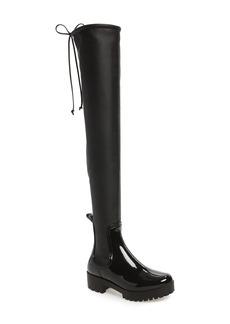 Jeffrey Campbell Cloudy Over the Knee Rain Boot (Women)