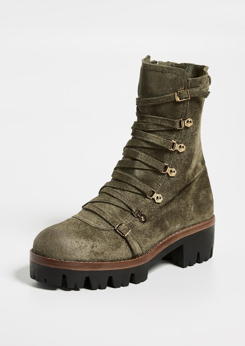 Jeffrey Campbell Combat Boots