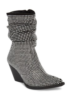 Jeffrey Campbell Controll Crystal Studded Slouch Boot (Women)