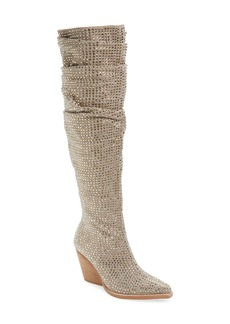 Jeffrey Campbell Controlla Slouch Over the Knee Boot (Women)