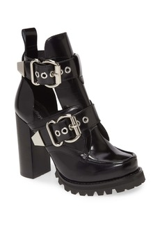 Jeffrey Campbell Craven Buckle Strap Bootie (Women)
