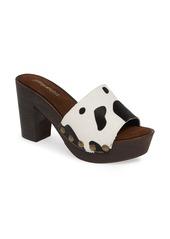 Jeffrey Campbell D-Light Genuine Calf Hair Platform Sandal (Women)